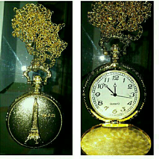 Ladies chain with pendant watch in a variety of styles see pictures