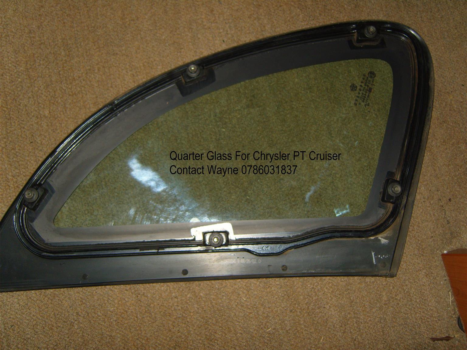 PT CRUISER Side Quarter Glass