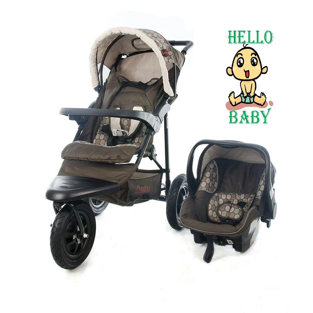 Chelino Urban Detour 3 wheeler travel system for sale.
