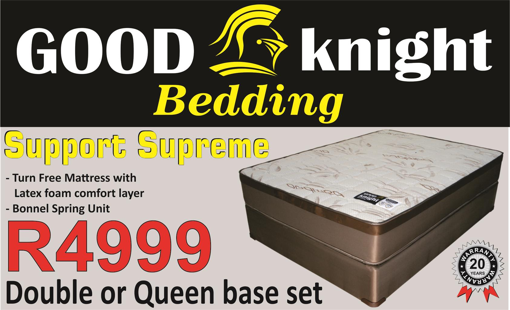 Good Knight Bedding, factory direct beds