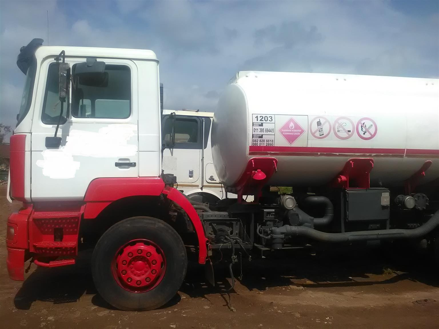 Massive savings on MAN fuel tanker