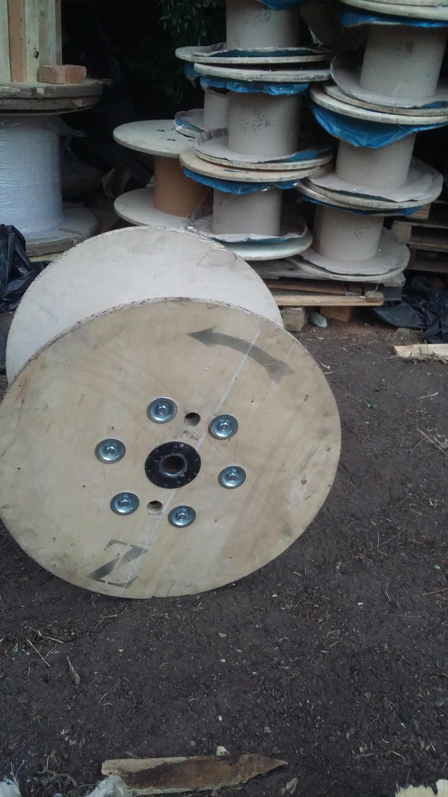 Small To Xlarge Wooden Cable Reel Spool Bobbin Junk Mail