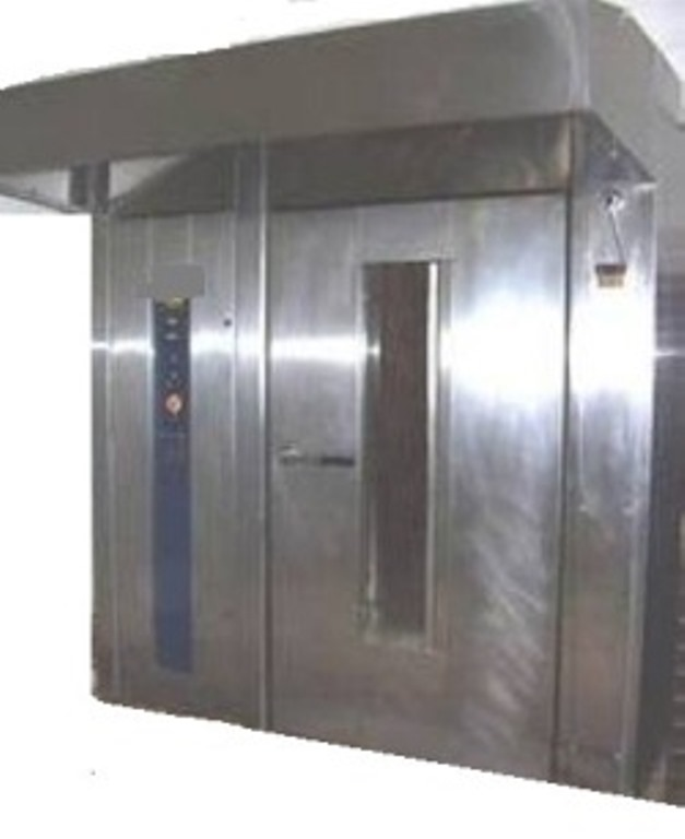 180 Loaves rotary rack oven