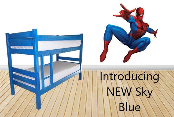 NEW Bunk Beds - Sky Blue
