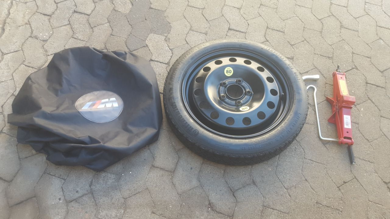 17 inch BMW E90 and F30 Space Saver Emergency Spare wheel kit R3500