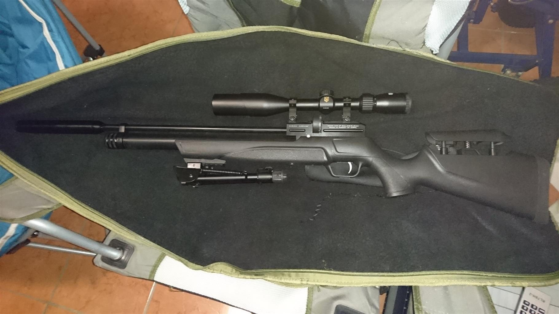 2 PCP AIR RIFLES