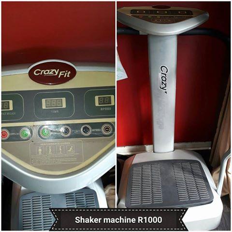 Shaker machine.