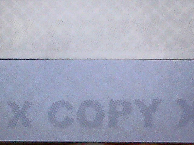 X-COPY  New copy protection security paper available to protect sensitive documents