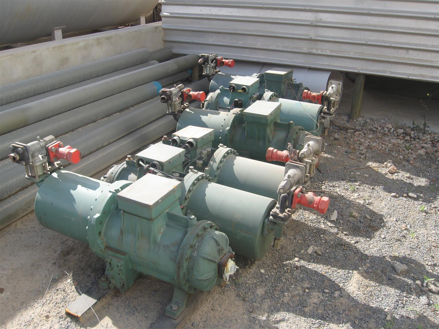 Screw Compressors for sale (COST OF NEW $15000 )My price R20 000 ONLY