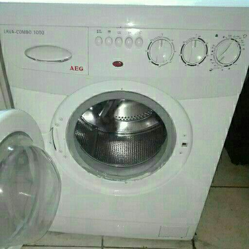 Aeg larvamat front loader washing machine