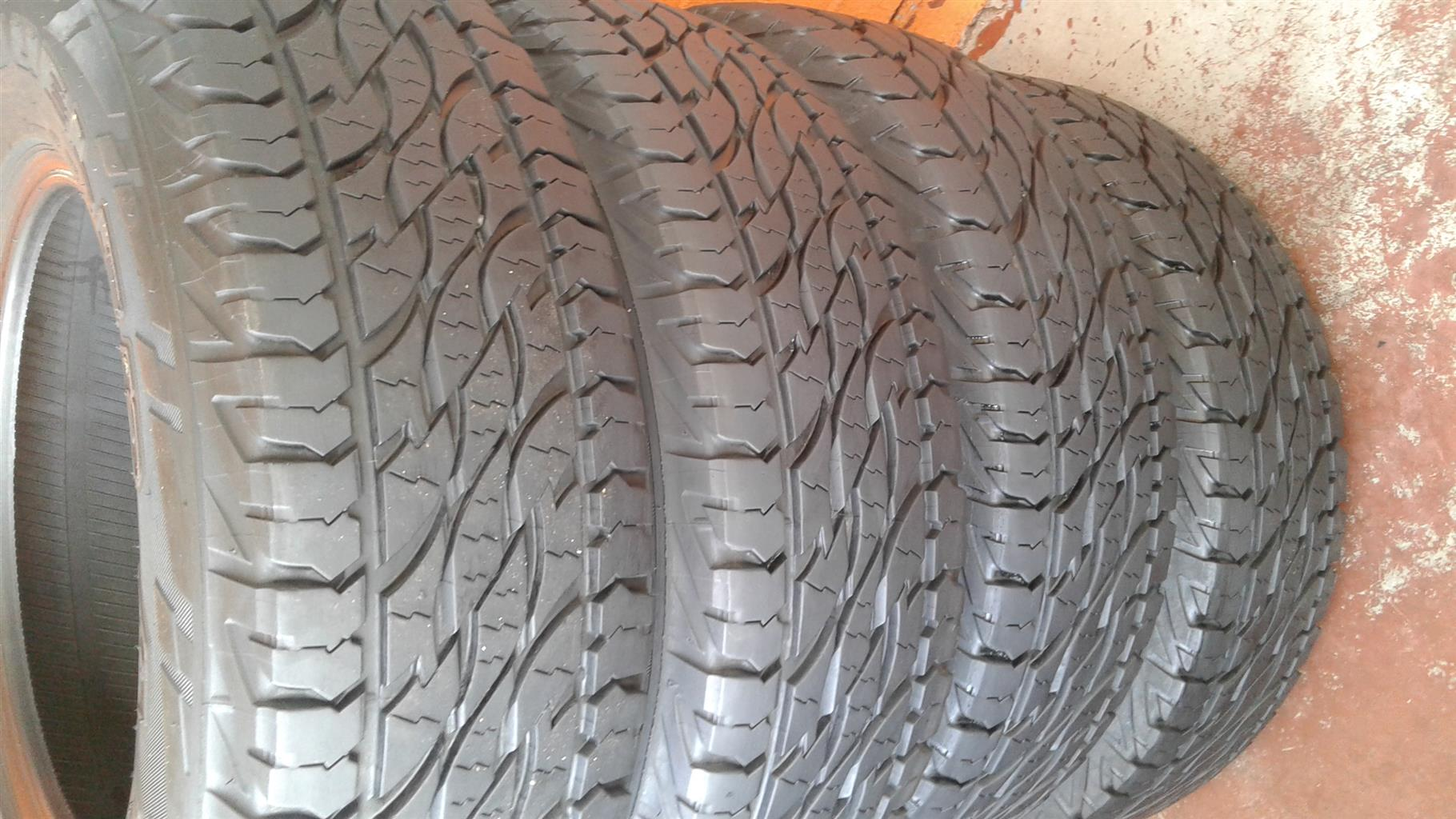 Used/secondhand tyres and New all sizes, mags, Rims
