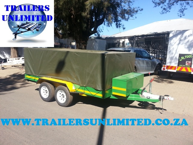 Utility Trailer with Tool Box