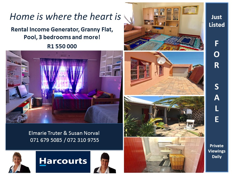 Rental income generator home in Parow west !