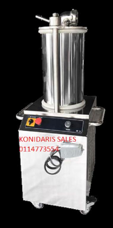 Hydraulic sausage filler for sale 26Lt  220V Capacity 400kg hour 1.1kw ONLY R24999.99 ex vat