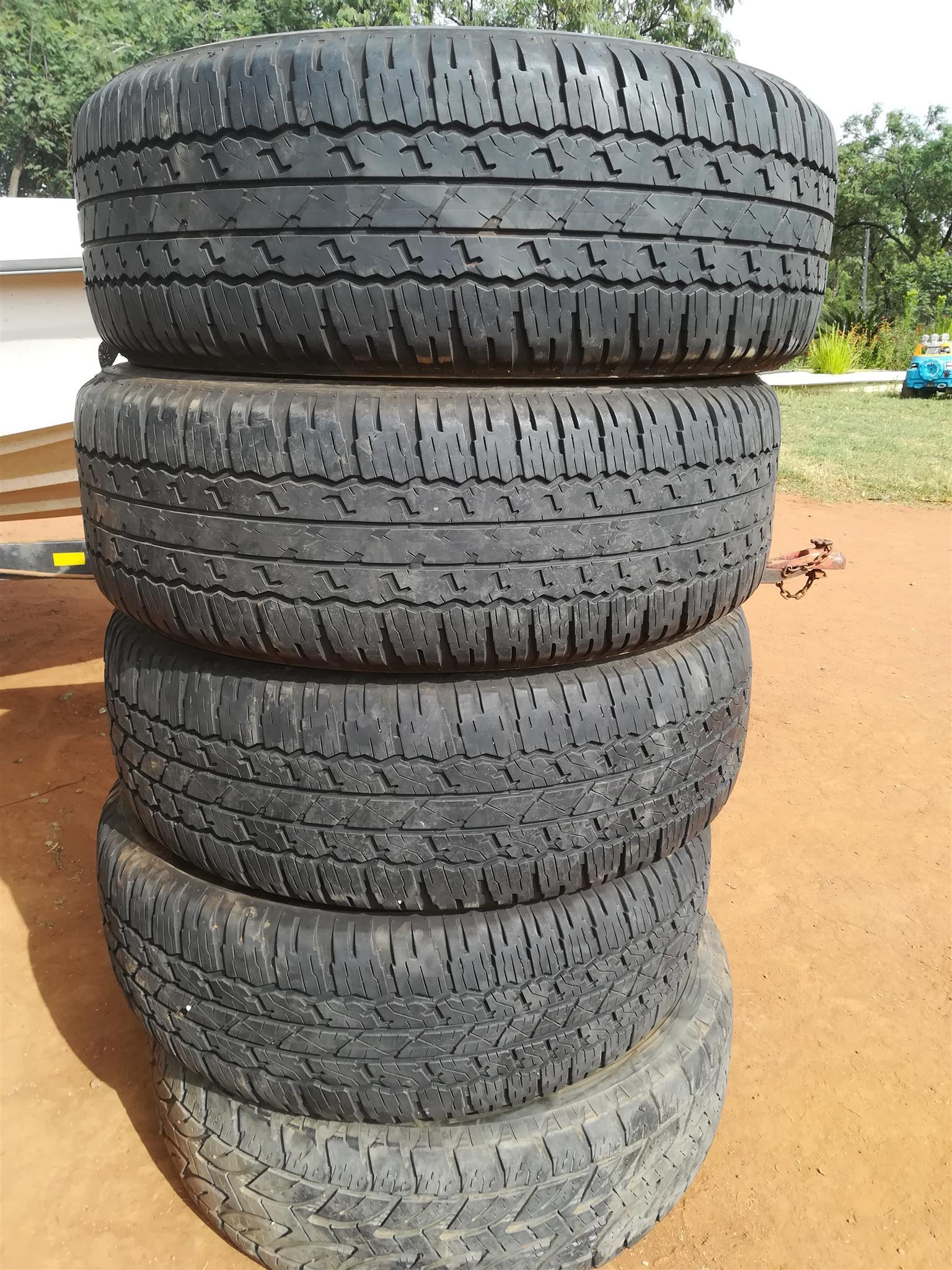 Bridgestone Tyres x5