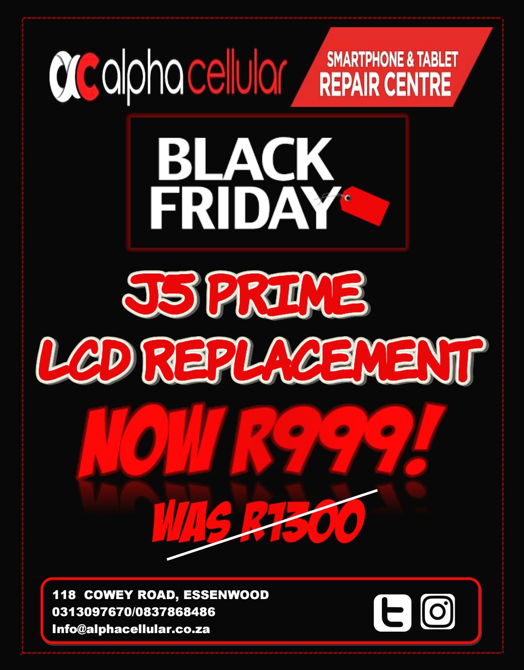 *BLACK FRIDAY SPECIAL* J5 PRIME SCREEN REPLACEMENTS