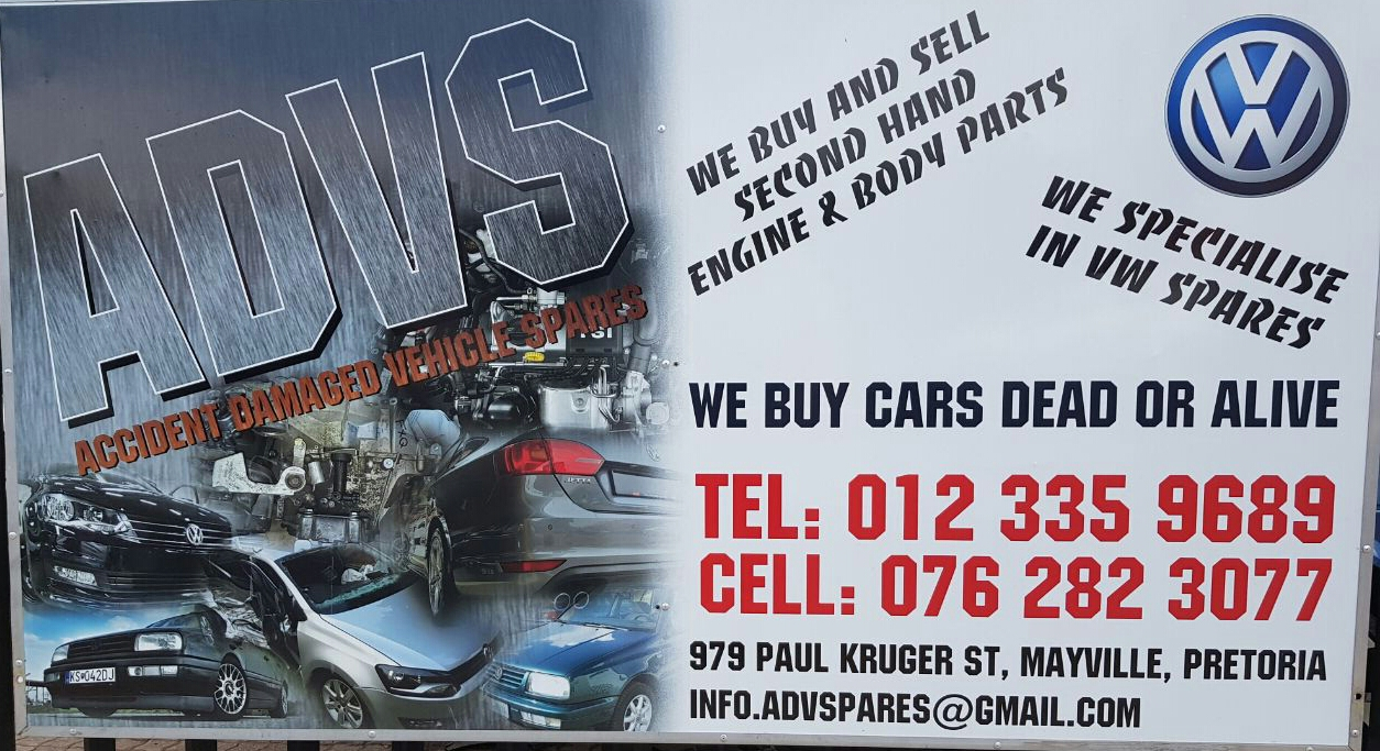 GIVE US A CALL.......WE SELL NEW AND USED VW SPARES. WE BUY ANY ...