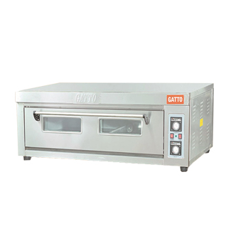 Deck Oven - With - Steam - Single Deck - 3 Tray