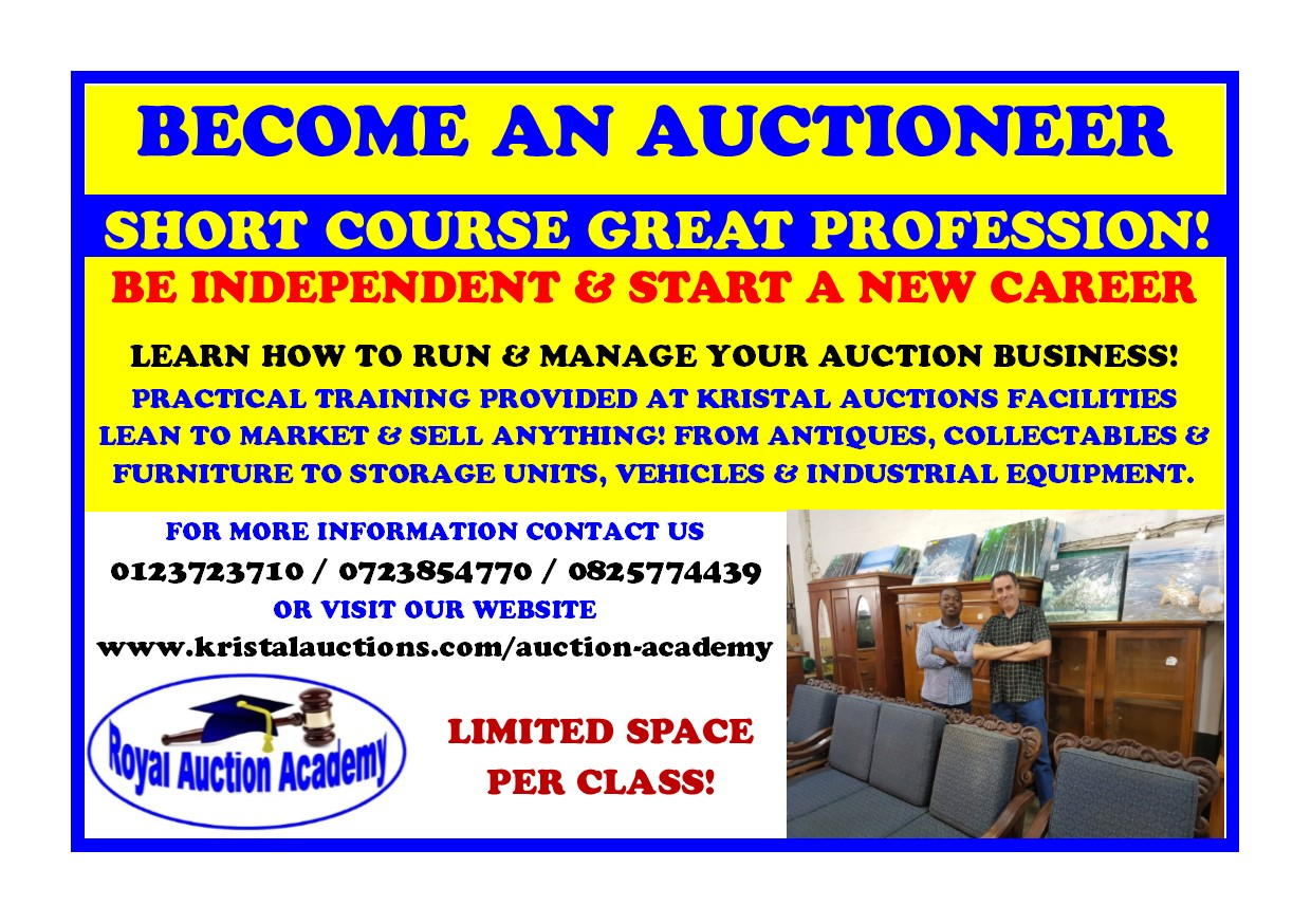 Auctioneer Training Course