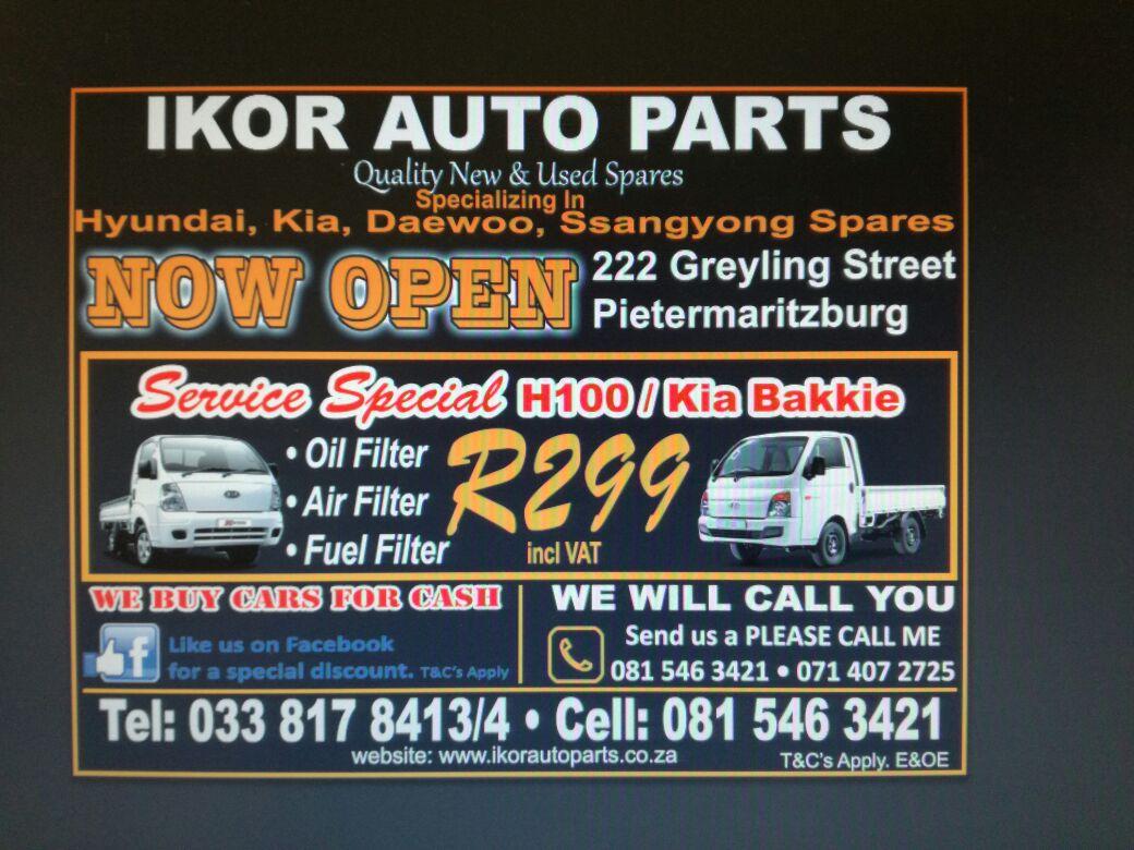 IKOR AUTO PARTS | Junk Mail
