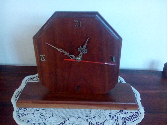 Rhodesian Teak Clock
