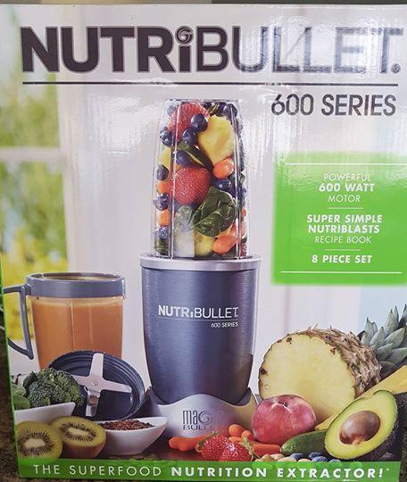 Nutribullet 8 piece brand new in box