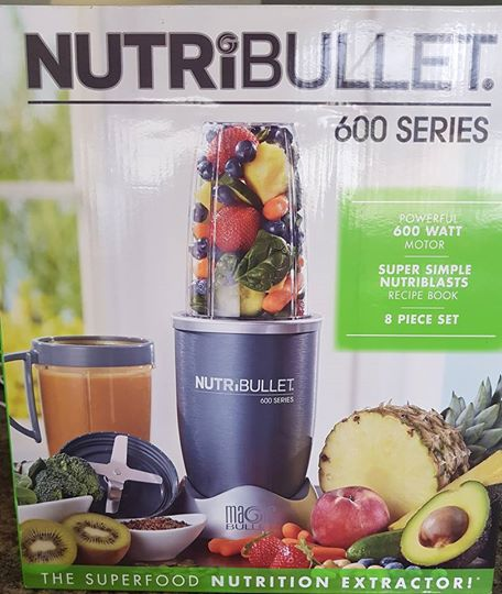 Nutribullet 8 piece brand new in box