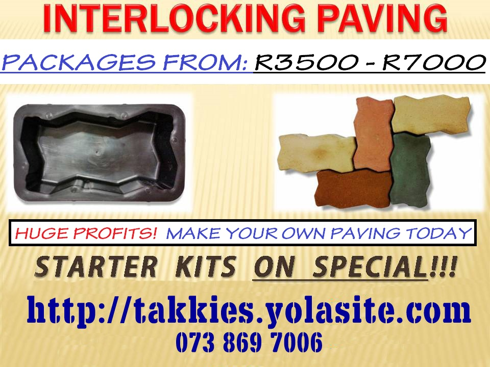 Manufacture Pavers - Blocks and Tiles