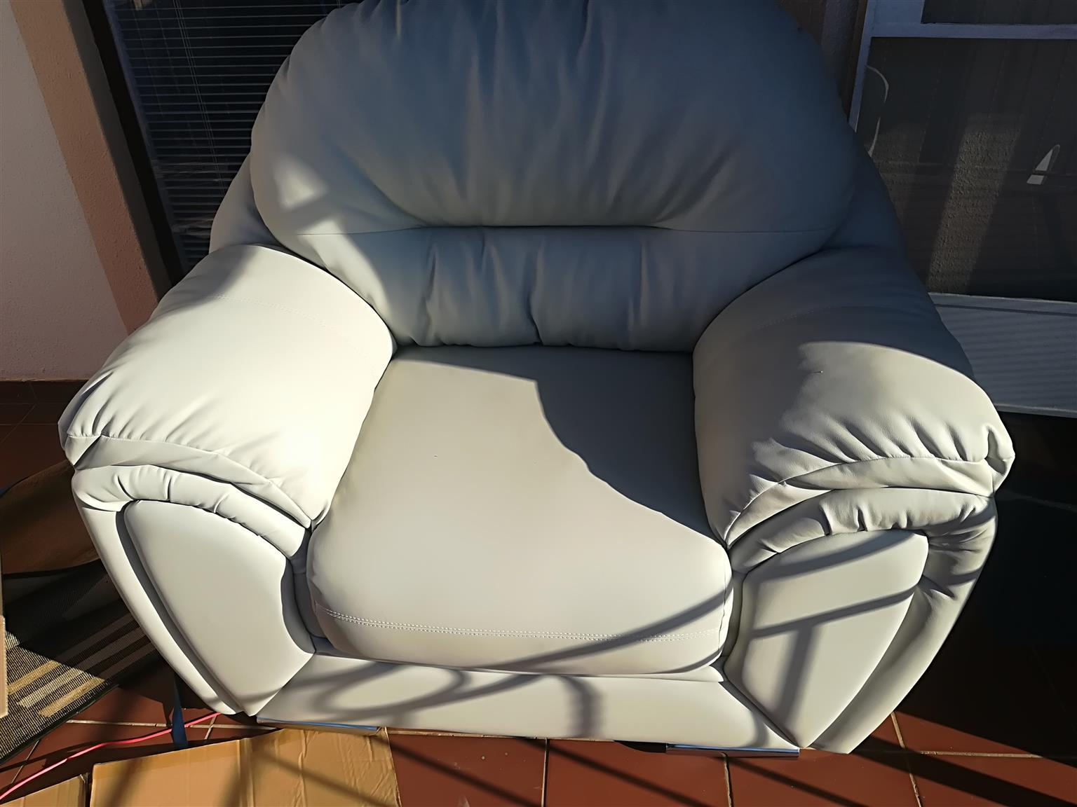 Genuine Leather Lounge Suite
