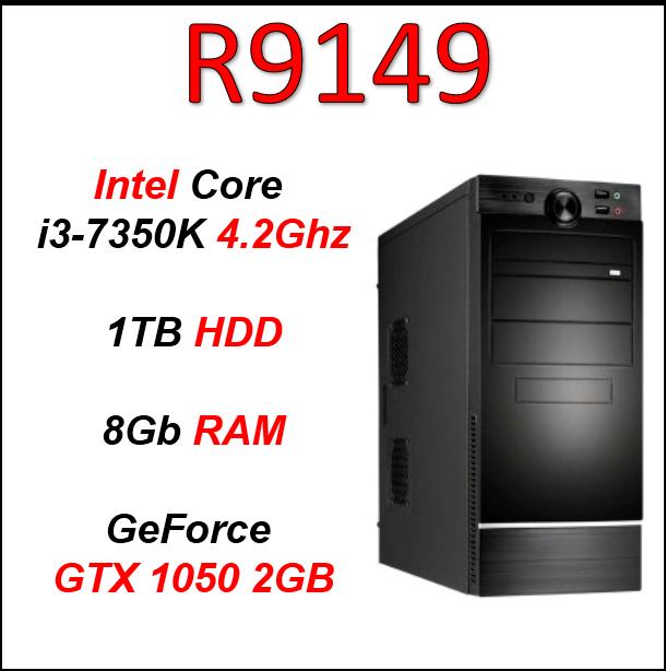 Custom Built Budget i3-7350K (GTX 1050 2GB) PC