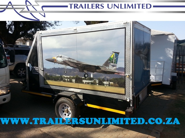 TRAILERS UNLIMITED ENCLOSED TRAILER 3000 X 1800 X 1800