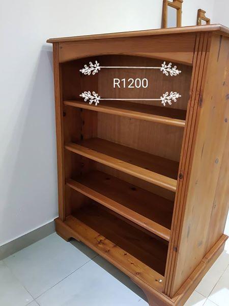 Wooden bookshelf for sale