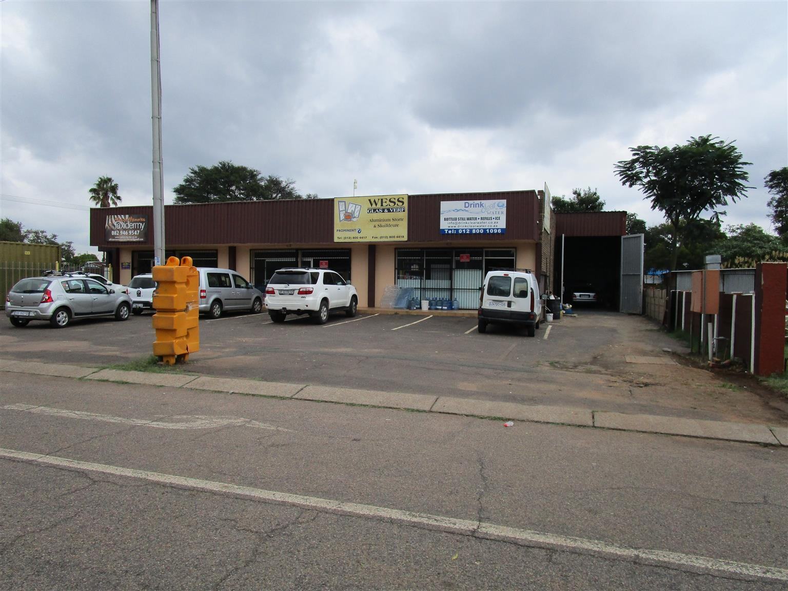 Tenanted Industrial Building on AUCTION