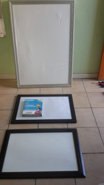 Aluminium large clip frames Promotional frames