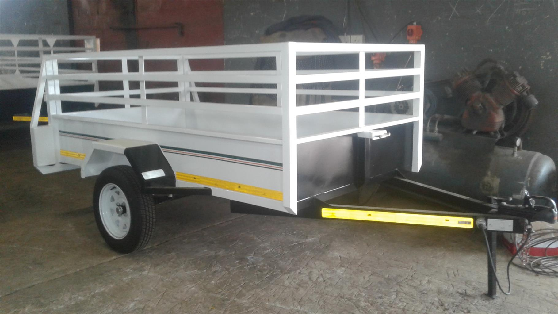 PLATE SIZE TRAILER FOR SALE, PAPERS INCL