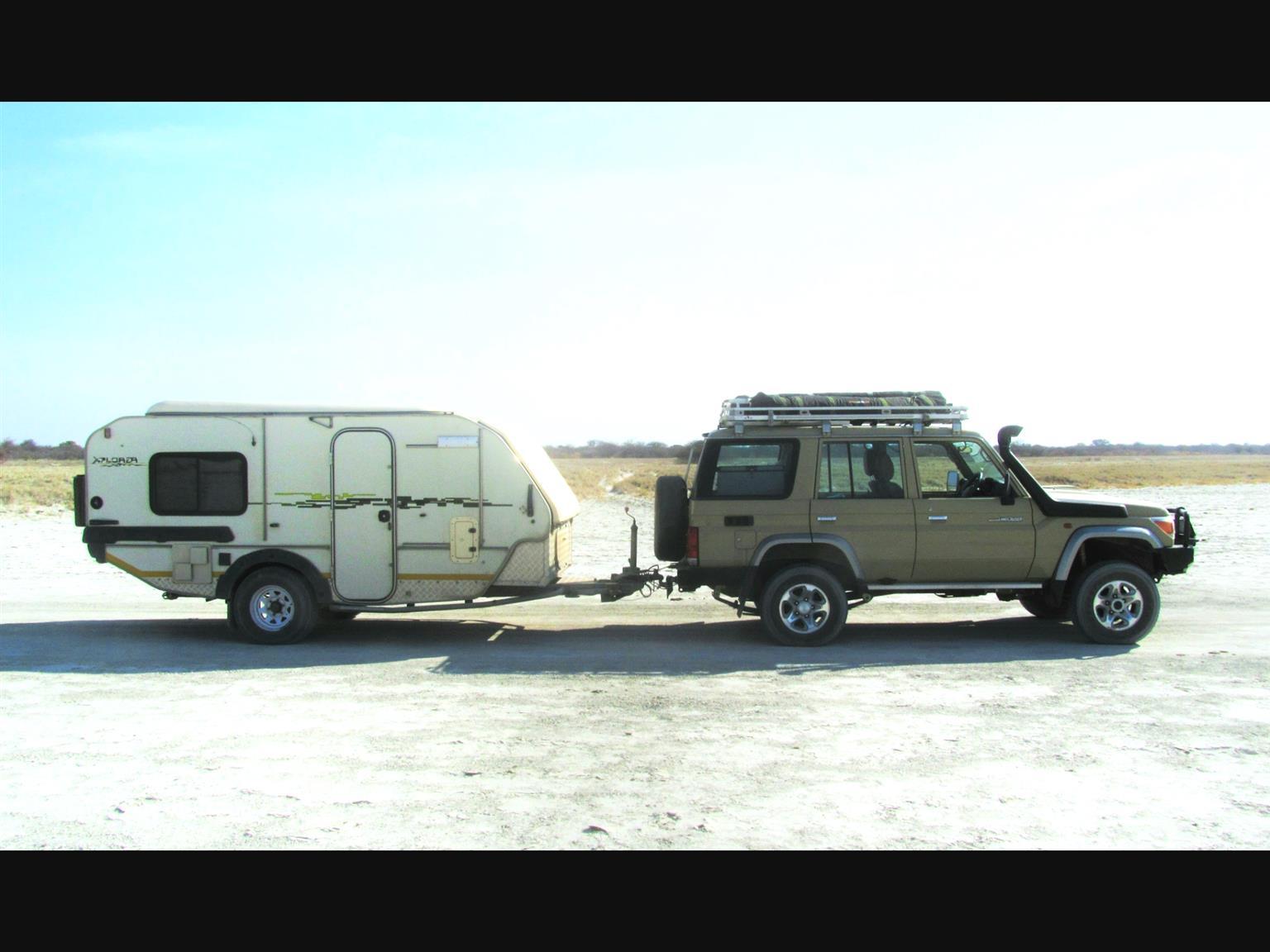 JURGENS XPLORER OFF ROAD CARAVAN -  SIGNIFICANT IMPROVEMENTS & MODIFICATIONS