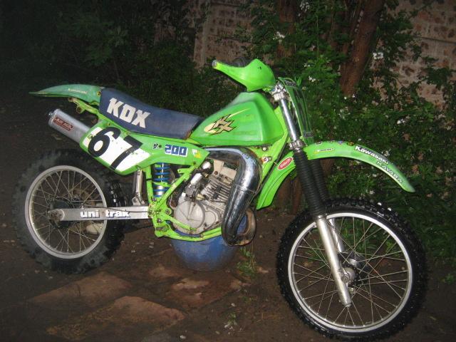 1985 Kawasaki KDX200H