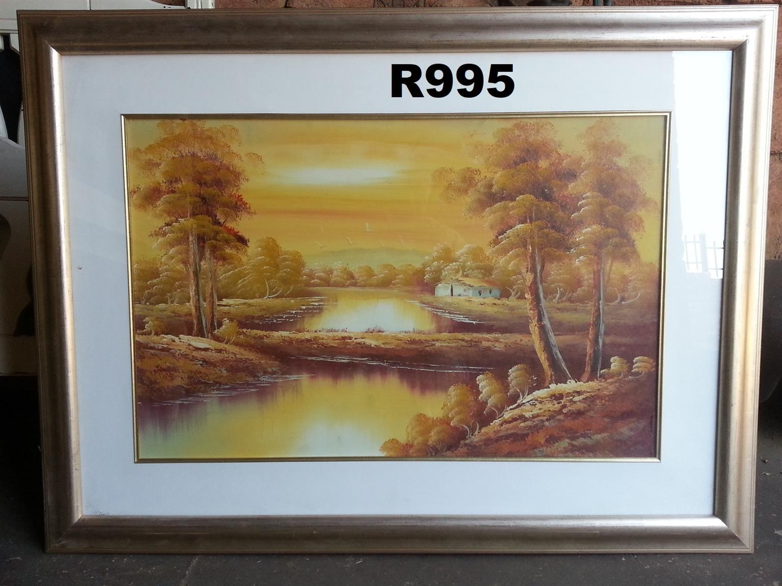 Original Sunrise Oil Painting (1240x935)