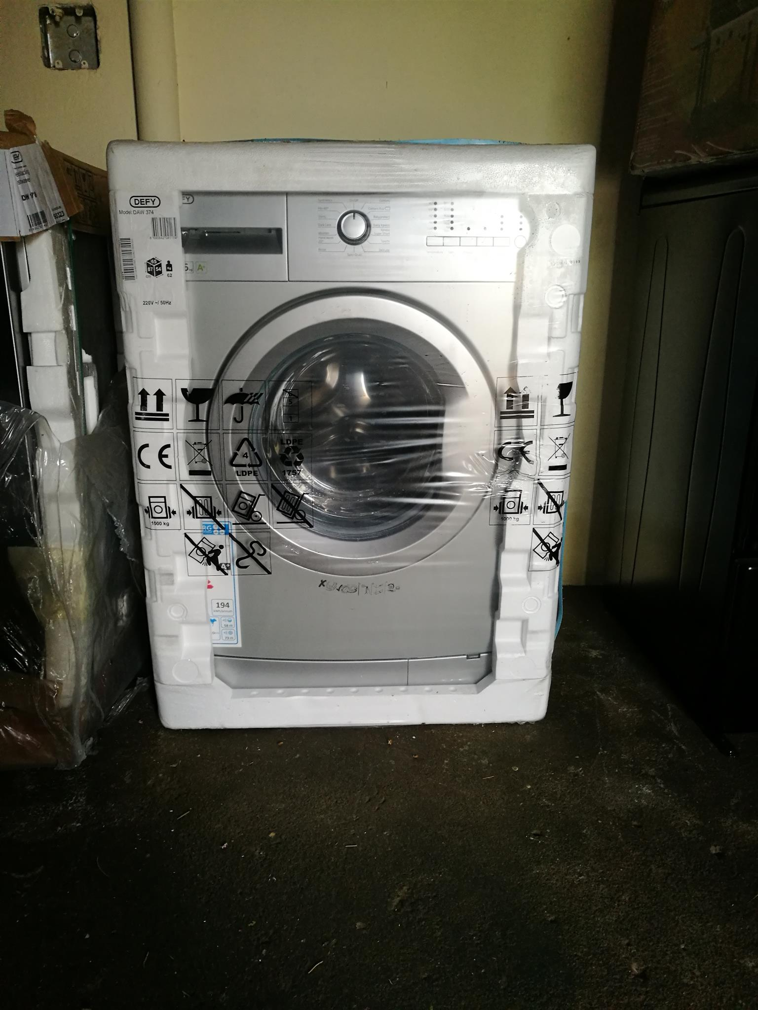 Defy washing machine