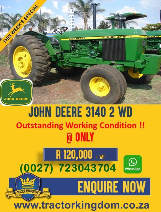 Second Hand John Deere 3140 Tractor
