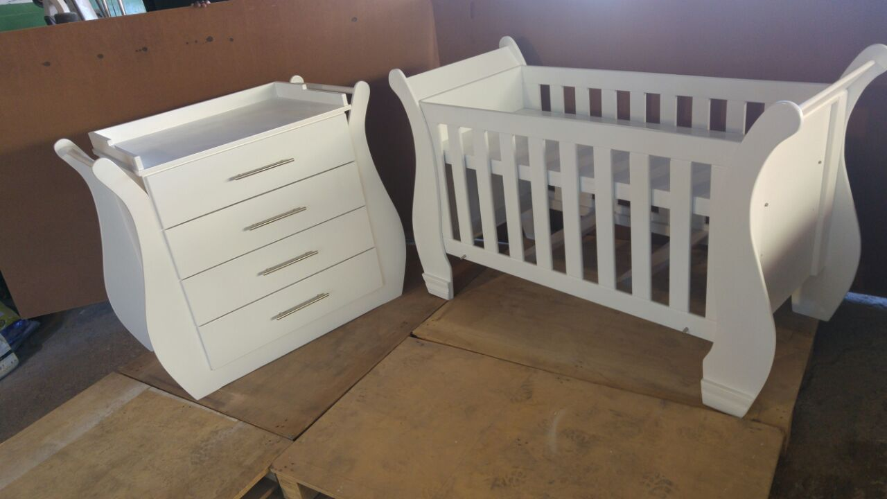 Dahlia Baby Cot and Compactum-R 3999,00