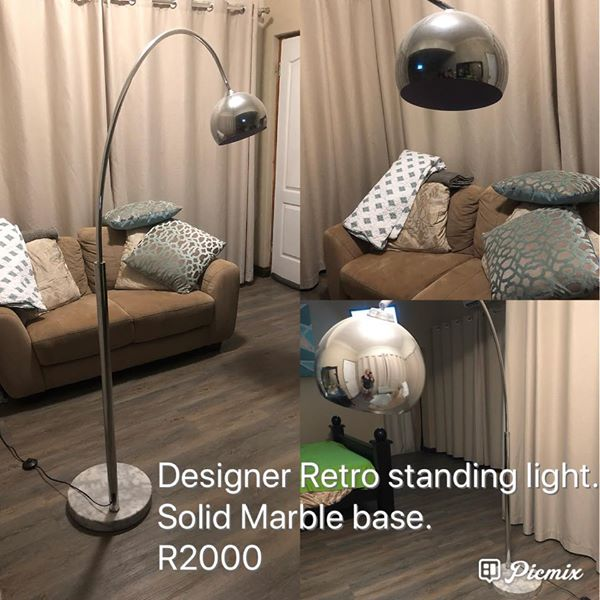 Designer retro standing light