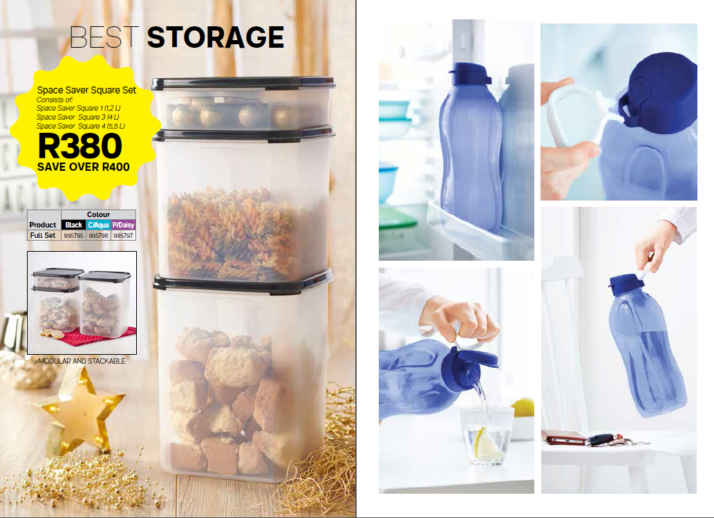 Tupperware specials - ending 3 April