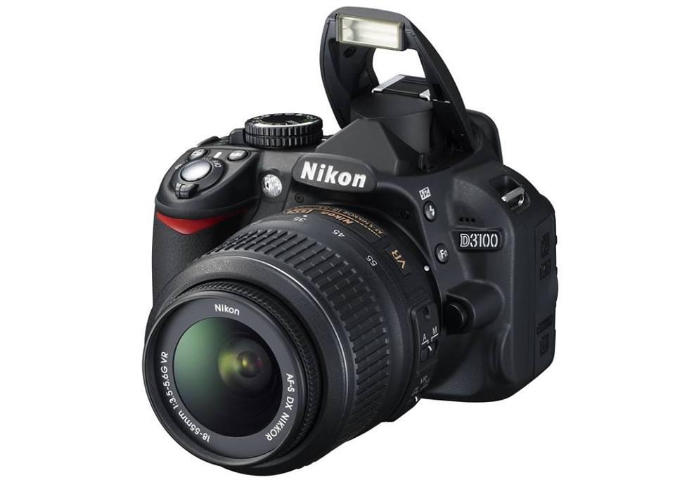 Nikon D3100 Camera with Nikon 18-55mm