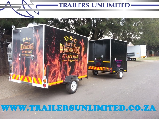 TRAILERS UNLIMITED TO ONE AND ONLY TOP QUALITY MOBILE KITCHENS SUPPLIER IN AFRICA.