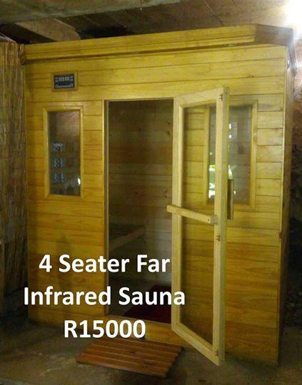 4 Seater infrared sauna