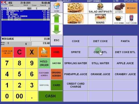 4POS Bar Station / Restaurants Demo Unit