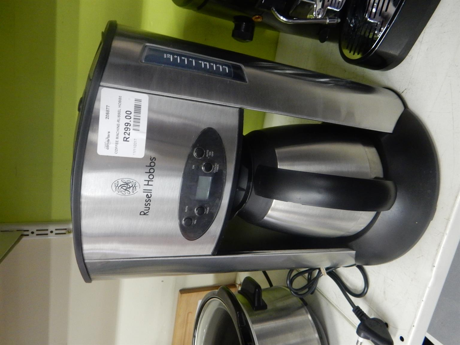 Russel Hobbs Coffee Machine