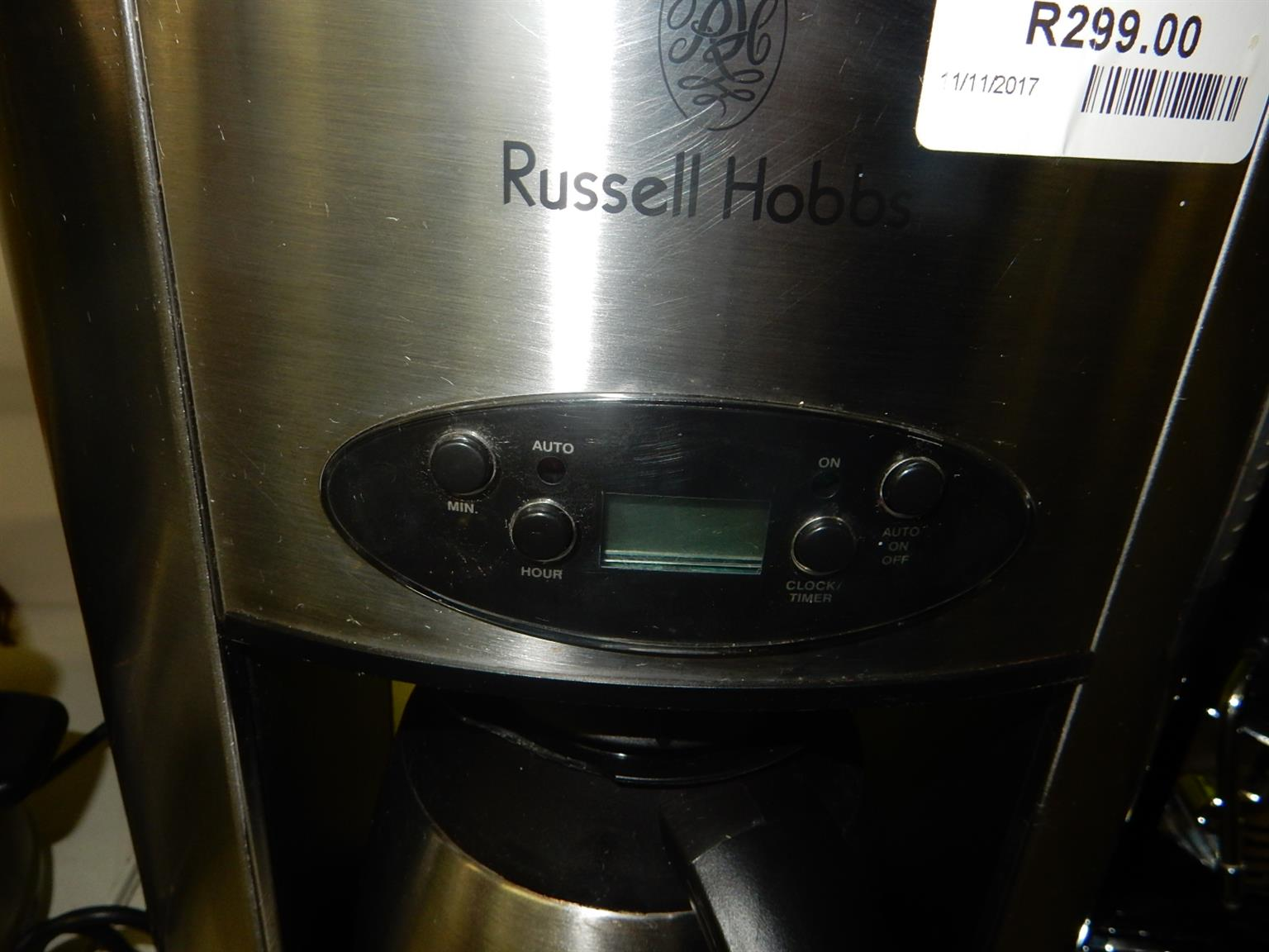 Russel Hobbs Coffee Machine