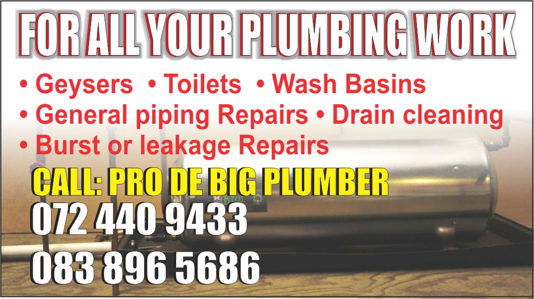 SOLUTION TO ALL  WATER LEAKAGE AND DRAIN BLOCKAGE